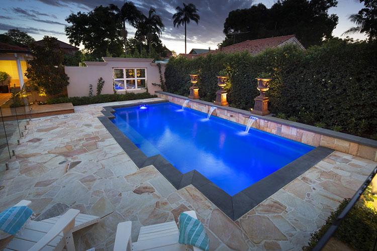 Monaco Pool 8.5m x 4.4m 4