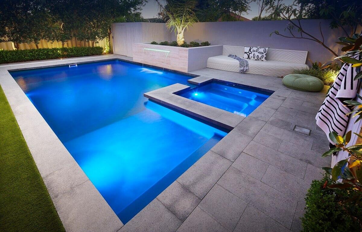 Brooklyn Pool & Spa 7.6m x 4.4m 5
