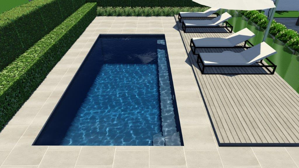 6.5m x 3.6m Horizon Pool