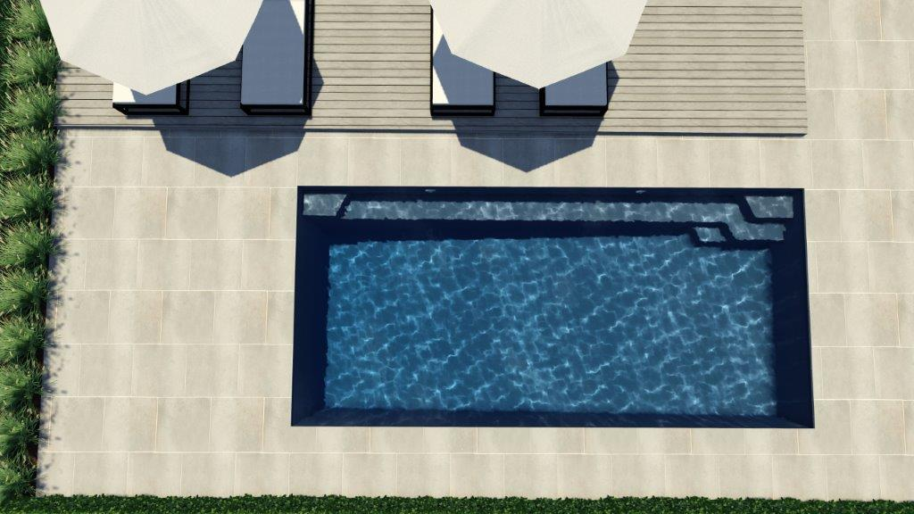 4.5m x 3.6m  Horizon Pool